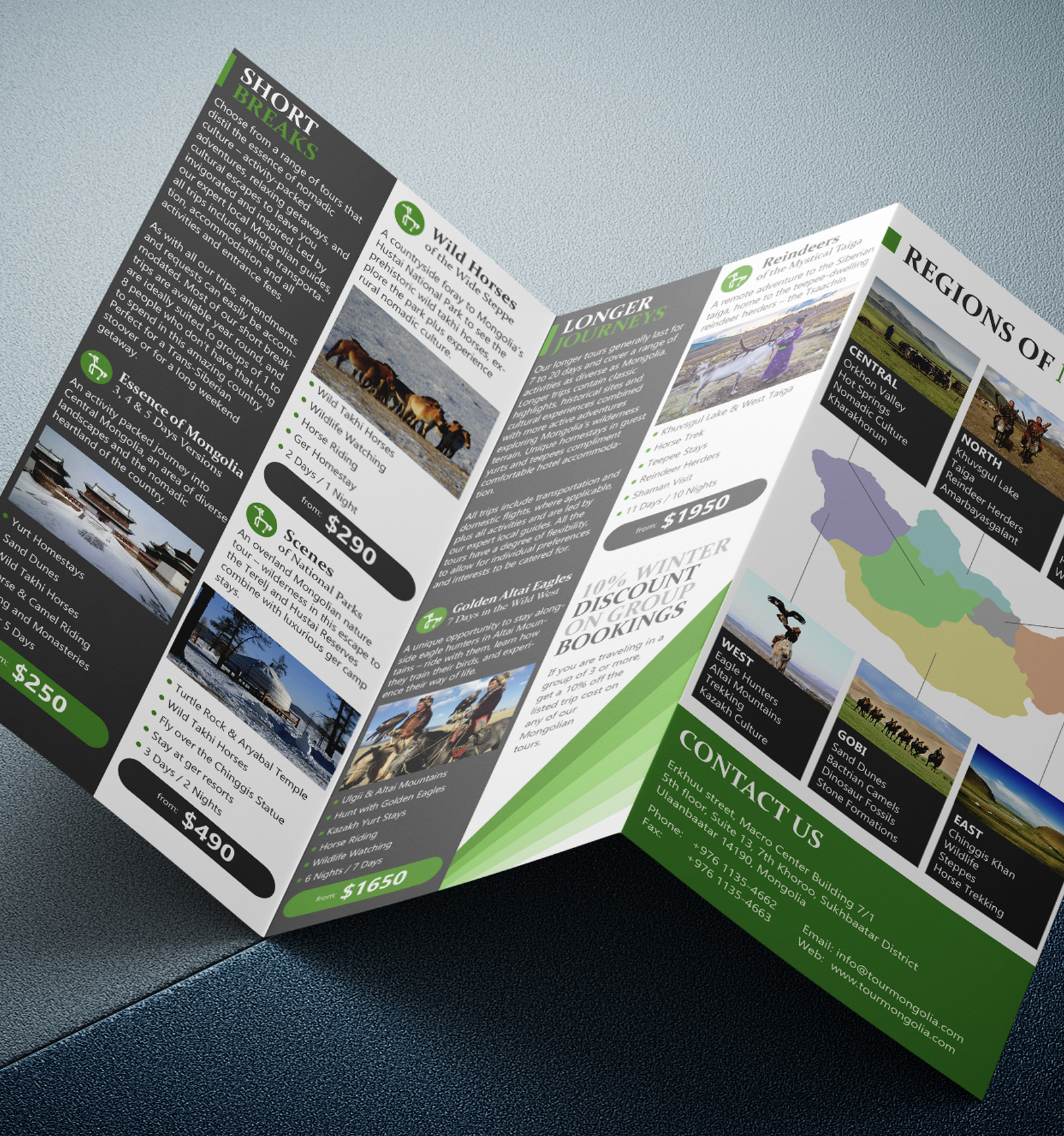 Leaflets and marketing collateral